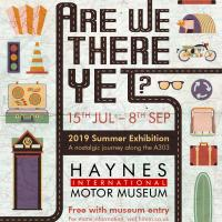 Are We There Yet? Summer event at Haynes International Motor Museum, Somerset