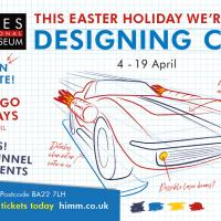 Designing Cars - Easter holiday family fun