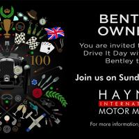 Bentley owners drive it day 2019