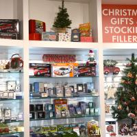 Christmas gift ideas and stocking fillers at Haynes International Motor Museum Somerset
