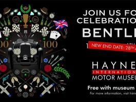 Bentley poster 100 Years new event dates