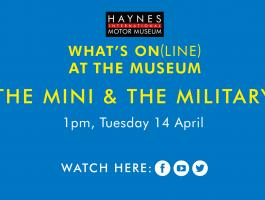 Online event - the mini and the military classic cars history