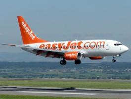 Easyjet flying out of Bristol Airport