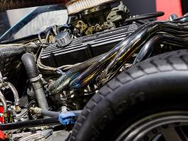 GT 40 engine at Haynes International Motor Museum
