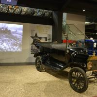 1915 Model T Ford part of the new display at Haynes