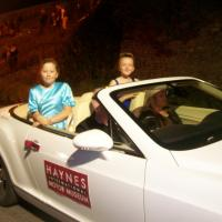 Haynes Joins in the Castle Cary Carnival Fun