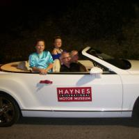 Haynes International Motor Museum Joins in the Castle Cary Carnival Fun