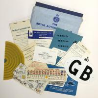 Museum donated archive items