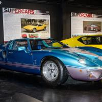 Ford GT40 replica from the Supercar Century display at Haynes International Motor Museum