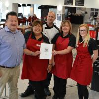 Cafe 750 Trip Advisor Review - Certificate of Excellence