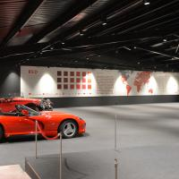 First of the Red Room cars enters new exhibition space