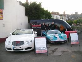 Haynes International Motor Museum Joins in the Carnival Fun