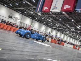 Haynes International Motor Museum Workshop and Restoration Centre attend the London Classic Car Show