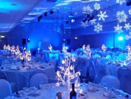 New members of the Venue Hire Team getting ready for Christmas