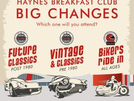 Big changes Haynes Breakfast Club