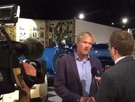 Deputy CEO Chris Scudds live on ITV News