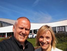 Cliff and Vicki Butler Henderson Fifth Gear Haynes International Motor Museum Somerset