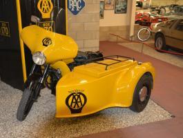 1960 BSA M21 'Slogger' sidecar combination at Haynes International Motor Museum