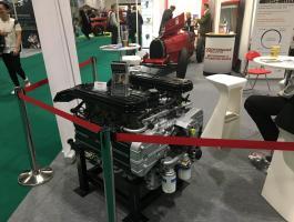 Ferrari 512 engine finished for restoration project at Haynes