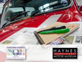 Learning outside the classroom quality award for Haynes