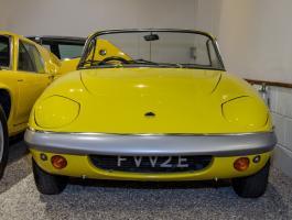 Lotus Elite and Seven Both Celebrating Their 60th Anniversaries at Haynes International Motor Museum
