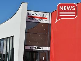 This Half term Haynes Motor Museum reopens