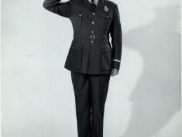 The Saluting Patrolman - Are We There Yet? Summer exhibition