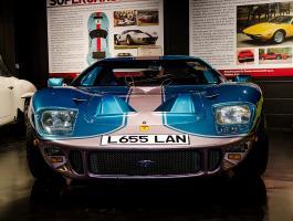 The GT40 at Haynes International Motor Museum
