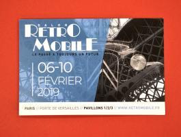 Retromobile ticket
