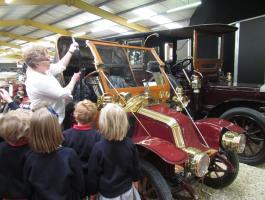 Educational visits to Haynes International Motor Museum
