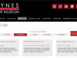 Tour & Talks at Haynes International Motor Museum