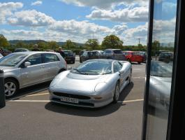 Our XJ220 going back into the Museum