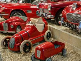 Famous Red Room closed for refurbishment till 8 February 2020 - Haynes International Motor Museum