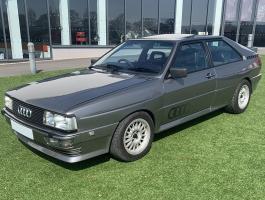 Audi Quattro paint work repairs and reconditioning