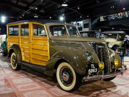 1937 Ford V8 Model 78 Deluxe 'Woody'