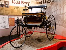 1886 Benz Patent Motorwagon