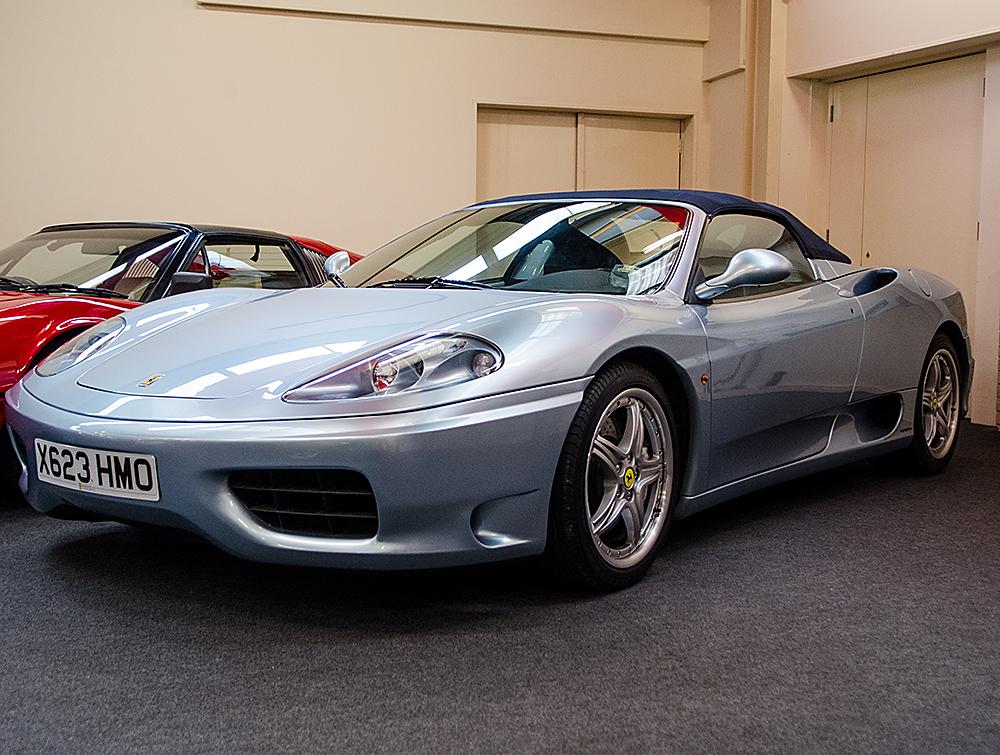 2000 Ferrari Modena 360 Spider Haynes International Motor Museum